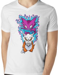 The Haunting -  Cubone & Haunter Fanart Mens V-Neck T-Shirt
