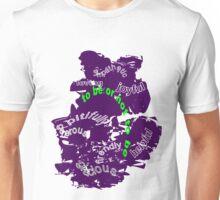 How to behave with people Unisex T-Shirt