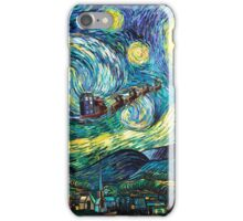 Tardis Santa Starry Night iPhone Case/Skin
