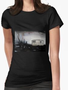 caravan Womens Fitted T-Shirt