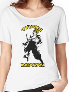 Train Insaiyan Women's Relaxed Fit T-Shirt