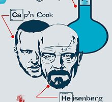 Breaking Bad Poster by Rajarshi Khasnabis