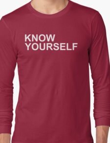Drake - Know Yourself (White Letters) Long Sleeve T-Shirt