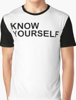 Drake - Know Yourself (Black Letters) Graphic T-Shirt