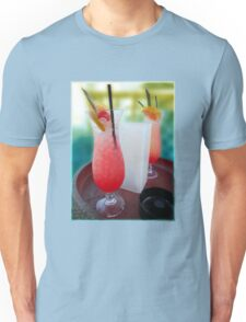 Cocktails On The Beach Unisex T-Shirt