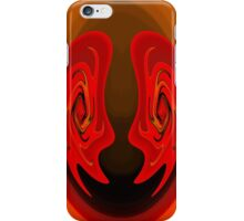 Abstract #18- Clowns iPhone Case/Skin