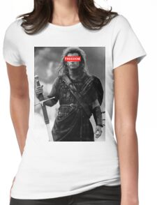 BRAVEHEART - freedom obey Womens Fitted T-Shirt
