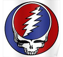 Grateful Dead - Steal your face Poster