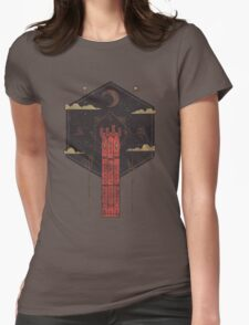 The Crimson Tower Womens Fitted T-Shirt