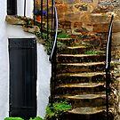 LITTLE OLD HOUSE by Angelika  Vogel