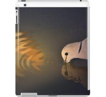 Cape Turtle Dove - African Wild Bird Background - Drinking Gold iPad Case/Skin