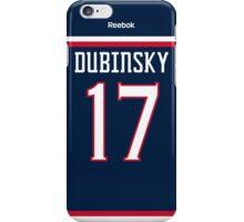 Columbus Blue Jackets Brandon Dubinsky Jersey Back Phone Case iPhone Case/Skin