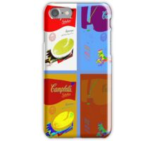 4 campbell's soup boxes iPhone Case/Skin