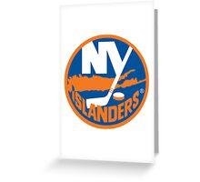 NY Islanders Greeting Card