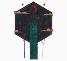 The Crimson Tower One Piece - Short Sleeve