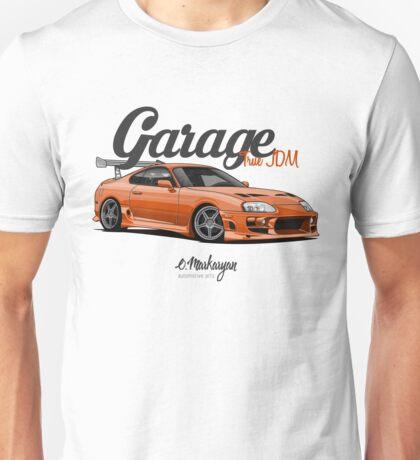 Supra Orange Unisex T-Shirt