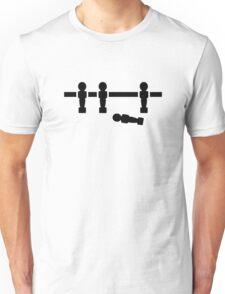 Foosball broken player Unisex T-Shirt
