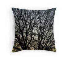 Magestic Tree Closeup Throw Pillow