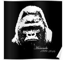 Harambe 1999-2016 Poster