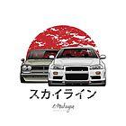 Nissan Skyline (R34 & Hakosuka) by OlegMarkaryan