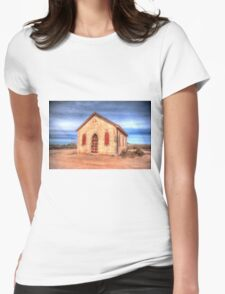 Worship In The Past Womens Fitted T-Shirt