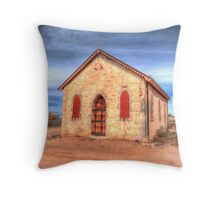 Worship In The Past Throw Pillow