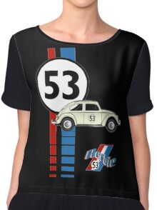 53 VW bug beetle bug Chiffon Top