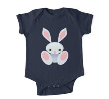 Little Blue Baby Bunny - The Wisley One Piece - Short Sleeve