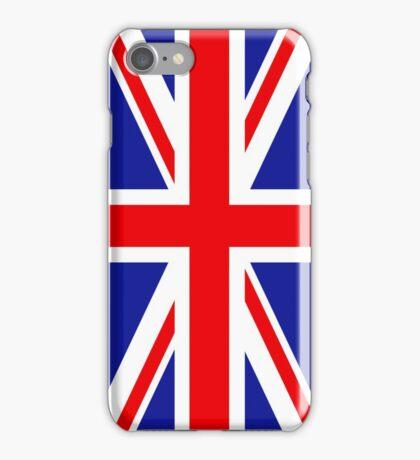 British flag iPhone Case/Skin