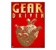 Gear Driven Photographic Print