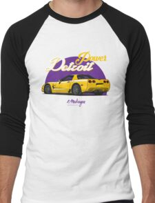 Corvette C5 (yellow) Men's Baseball ¾ T-Shirt