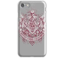 Satanic Masonic 2 (Grunge) iPhone Case/Skin