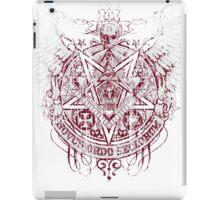 Satanic Masonic 2 (Grunge) iPad Case/Skin