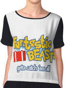 Fantastic Beasts - gotta catch 'em all Chiffon Top
