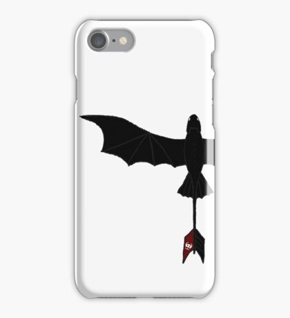 Black Toothless iPhone Case/Skin