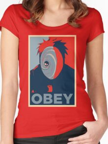 Obey Women's Fitted Scoop T-Shirt