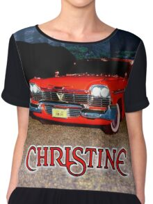 Christine Plymouth Fury 1958  Chiffon Top