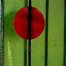 Red on Green - Perris CA by Larry Costales