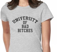 University of Bad Bitches Womens Fitted T-Shirt