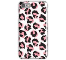 Pink leopard iPhone Case/Skin