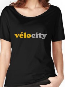 Vélocity Women's Relaxed Fit T-Shirt