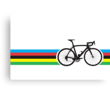 Bike Stripes World Road Race Champion Canvas Print