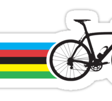 Bike Stripes World Road Race Champion Sticker