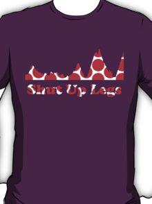 Shut Up Legs Red Polka Dot Mountain Profile T-Shirt