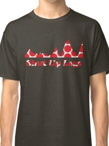 Shut Up Legs Red Polka Dot Mountain Profile Classic T-Shirt