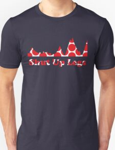 Shut Up Legs Red Polka Dot Mountain Profile Unisex T-Shirt