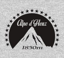 Alpe d'Huez (Black) One Piece - Long Sleeve
