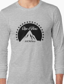 Alpe d'Huez (Black) Long Sleeve T-Shirt