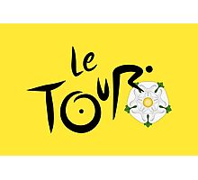 Le Tour de Yorkshire Photographic Print