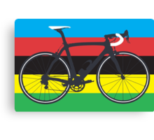 Bike World Champion (Big - Highlight) Canvas Print